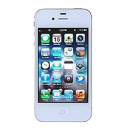 Apple iPhone 4S 8GB iOS Smartphone White - Verizon Wireless