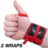 Premium Wrist Wraps for weightlifting, cotton workout wrist protectors...