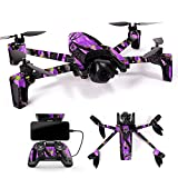 MightySkins Skin for Parrot Anafi Drone - Purple Tree Camo | Protective, Durable, and Unique Vinyl Decal wrap Cover | Easy to Apply, Remove, and Change Styles | Made in The USA