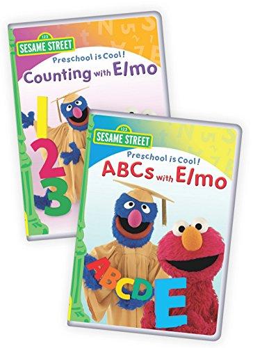 (Sesame Street: Preschool is Cool: ABCs with Elmo /Preschool is Cool: Counting with Elmo 2-Pack)