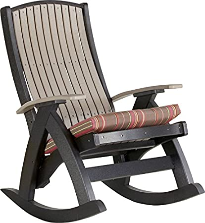 Amazon Com Luxcraft Poly Comfort Rocker Recycled Plastic Outdoor
