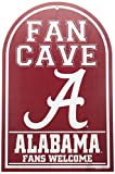 WinCraft NCAA Alabama, University of 95165010 University of Alabama Wood Sign, 11'' x 17'', Red