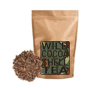 Wild Cocoa Tea from Organically Grown Heirloom Cocoa Shells (4 ounce)