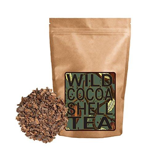 Wild Cocoa Tea from Organically Grown Heirloom Cocoa Shells (4 ounce)