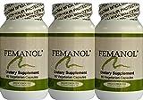Femanol (3) Bottles 60/count for Feminine and Vaginal Odor