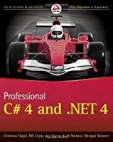 Professional C# 4.0 and .NET 4 Front Cover