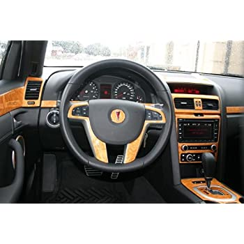 pontiac g8 g 8 g 8 interior wood dash trim kit set 2008 2009 2010 automotive. Black Bedroom Furniture Sets. Home Design Ideas