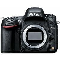 Nikon D600 24.3 MP CMOS FX-Format Digital SLR Camera (OLD MODEL)