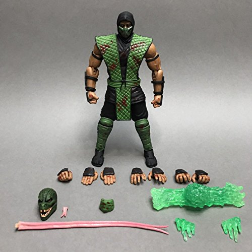 Storm Collectibles Mortal Kombat Reptile Bloody Variant Action -