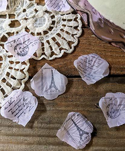 Eiffel Tower Table Confetti, Eiffel Tower Birthday Supplies, Paris Theme Bridal Shower or Baby -
