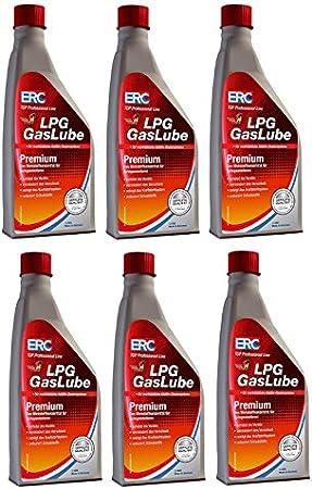 6 StÜck Erc Gaslube Premium Lpg Additiv Gas 1000ml Zusatz Auto Auto