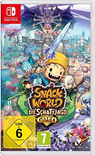 Snack World: Die Schatzjagd – Gold: Nintendo-Switch