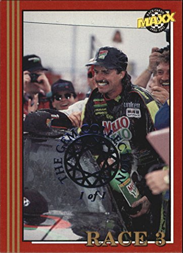 1992 Maxx NSCC/National Gem Collection Blue #266 Rockingham Speedway Racing /1 of 1 (Rockingham Collection)
