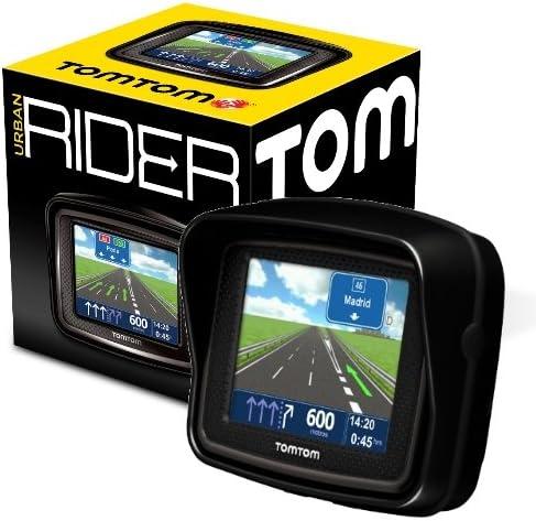TomTom Urban Rider - Navegador GPS, mapas Península Ibérica (3.5 ...