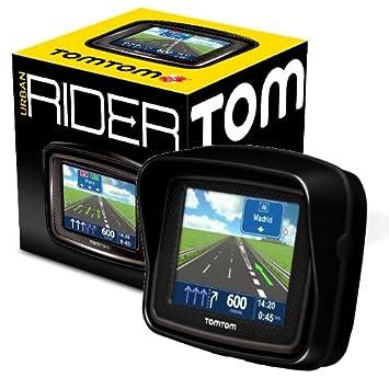 TomTom Urban Rider - Navegador GPS, mapas Península Ibérica (3.5 pulgadas)
