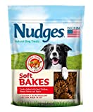 Cheap Nudges Soft Bakes Dog Treats 10 oz. – 2 Pack – Peanut Butter