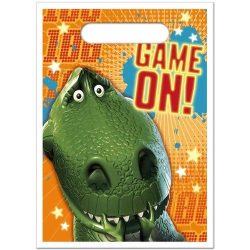 Toy Story Game Time Treat Sacks - 8/Pkg. by (Treat Loot Sacks)