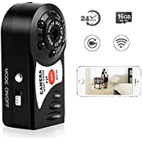 Toughsty 16GB Mini Wifi Remote Access DV Camcorder Pocket Handheld Camera for iPhone Android APP