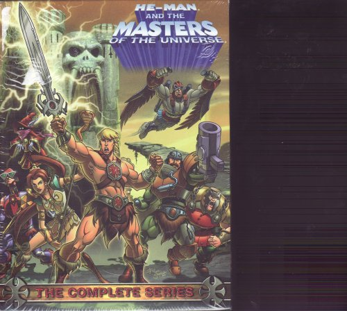 He-man and the Masters of the Universe - The Complete Series DVD Set Volume 1, 2 & 3 - 9 Disc Set , 39 Episodes , 14 Hours