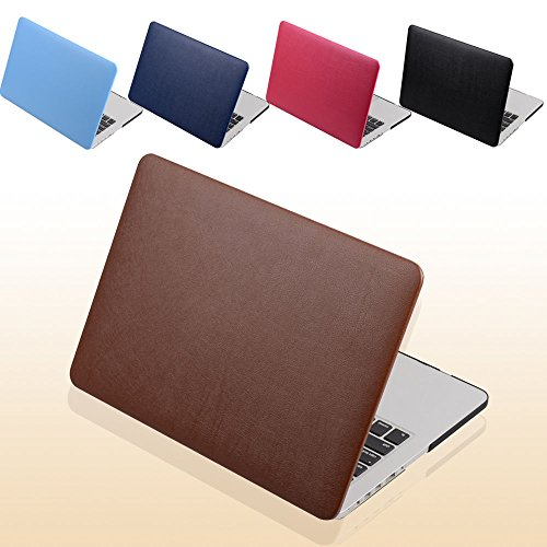 Evertrust(TM) PU Leather Coated Protect Sleeve Laptop Case Cover For Macbook Pro Retina ()