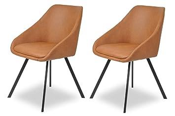 Salesfever Stuhl Polsterstuhl Design Esszimmer Mit Luiso2er Set 0XwPkO8n