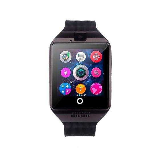 Reloj Inteligente Xinan Nuevo reloj inteligente Bluetooth Q18 Tarjeta SIM de soporte de cámara para teléfono