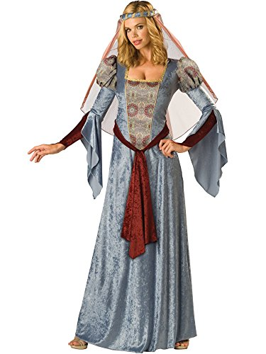 Maid Marian Costume - X-Large - Dress Size 16-18 (Maid Marian Adult Costume)