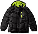 Vertical 9 Big Boys' Bubble Jacket (More Styles Available), V205-Black, 14/16