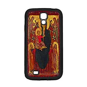 Cimabue Madonna And Child With Saint John The Baptist And And St Peter - Samsung Galaxy S4 Black Case
