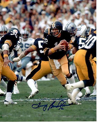 TERRY BRADSHAW signed autographed NFL PITTSBURGH STEELERS photo