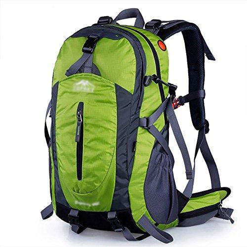 HWLXBB Outdoor Bergsteigen Tasche 40L Anti-Spritzwasser Wasser Licht Reise Bergsteigen Rucksack Männer und Frauen Walking Bergsteigen Tasche ( Farbe : 3* , größe : 50L )
