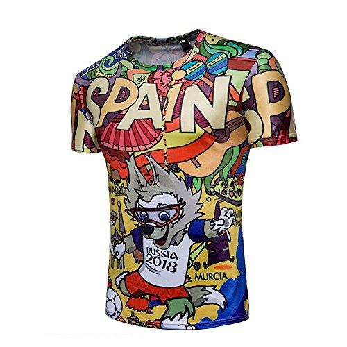 ShirtsRound Neck Blusa Un 2018 MensT 5wXExU