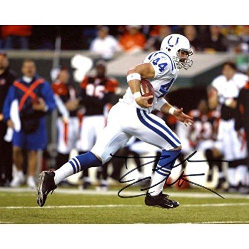 Autographed Dallas Clark Photo - 8x10 - Autographed NFL Photos