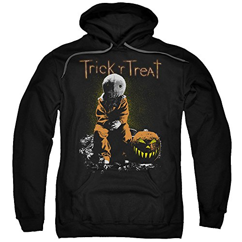 Trick 'r Treat Sitting Sam Unisex Adult Pull-Over Hoodie For Men and Women