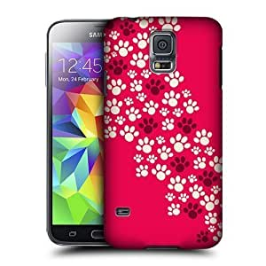 Betty S. Simmons's Shop Head Case Designs Migrating Paws Protective Snap-on Hard Back Case Cover for Samsung Galaxy S5 4895794M58939768