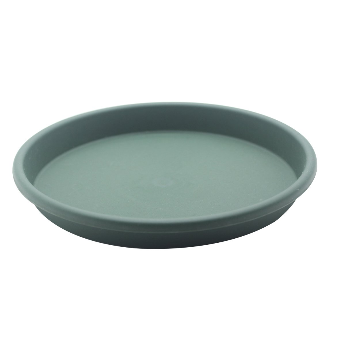 5Pcs Round Green Plastic Plants Pot Saucer Trays,for holding Soil and Water Drips Excellent For Indoor & Outdoor Plants (9.0in)