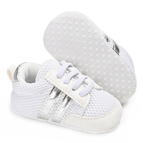 Images of Annnowl Baby Sneakers Infants Soft Sole Crib Annnowl74112