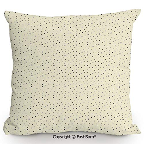 FashSam Polyester Throw Pillow Polka Dots in Different Sizes Galaxy Inspired Design Cosmic Universe Celestial for Sofa Bedroom Car Decorate(14
