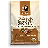 Rachael Ray Nutrish Zero Grain Natural Dry Dog Food, Turkey & Potato Recipe, Grain Free, 6 lbs