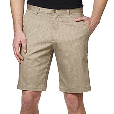 Calvin Klein Men 10'' Men's Stretch Flat Front Short