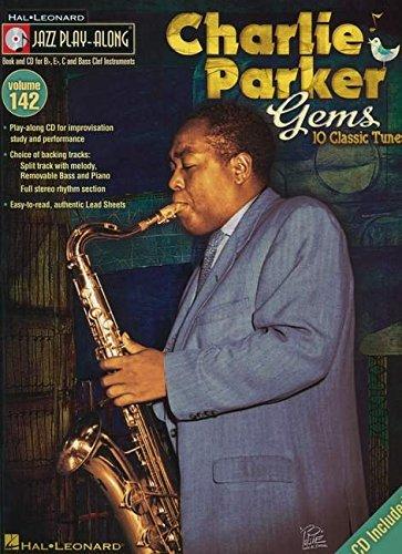 Charlie Parker Gems - Jazz Play-Along Volume 142 (Cd/Pkg)