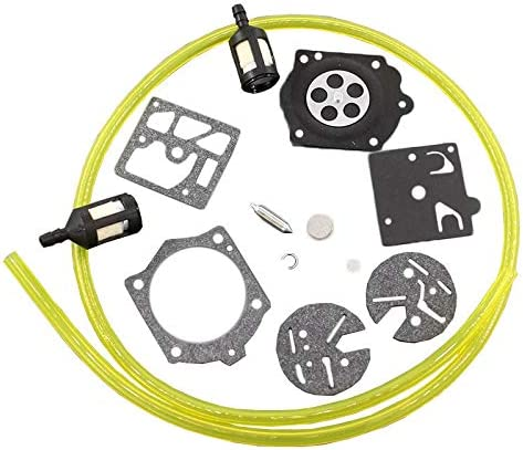 Carburetor Diaphragm Kit /& Fuel Filters /& Fuel Line For Homelite XL 2 Walbro HDC