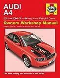 Audi A4 Repair Manual Haynes Manual Service Manual Workshop Manual 2001-2004