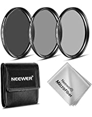 Neewer® 77 mm ND Filter Set (ND2 ND4 ND8) per Canon EF 24-105 mm f/4 L IS USM Zoom Obiettivi Nikon 28-300 mm f/3.5-5.6 G ED VR II AF-S Zoom