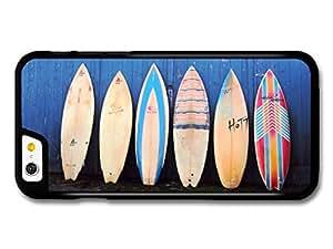 Surf Boards Vintage Aligned on Blue Wall case for iPhone 6 hjbrhga1544