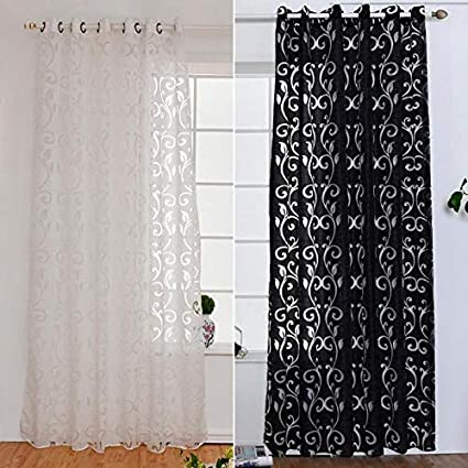 Amazon Westsell Geometry Curtains For Living Room 3D Rattan