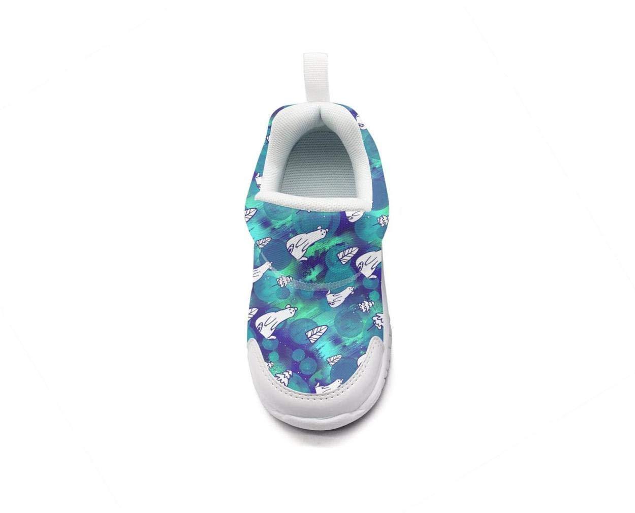ONEYUAN Children Polar Bear Tree Kid Casual Lightweight Sport Shoes Sneakers Running Shoes