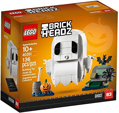 Ghosts Of Halloween (LEGO BrickHeadz Halloween Ghost 40351 Building Kit (136)