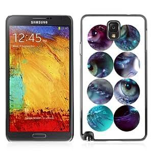YOYOSHOP [Eyes Design] Samsung Galaxy Note 3 Case
