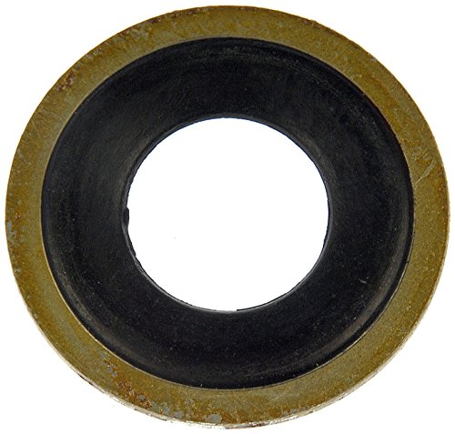 rade Metal and Rubber Oil Drain Gasket (1980 Cadillac Eldorado Rubber)